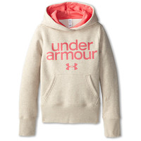 Under Armour Kids UA Impulse Holiday Cotton Hoodie (Big Kids) Teal Ice/White - Zappos.com Free Shipping BOTH Ways