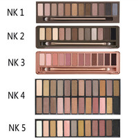 nake 3 original color 12 color eye shadow eye nude makeup bare earth color eyeshadow naked palette NAKED3 Cosmetic Free shipping