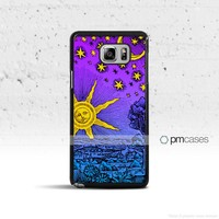 Sun Moon & Stars Case Cover for Samsung Galaxy S & Note Series