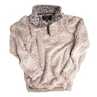 PRE-ORDER NOW Frosty Tipped Pile 1/2 Zip Pullover