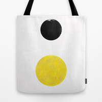 Sun and Moon Tote Bag by Georgiana Paraschiv | Society6
