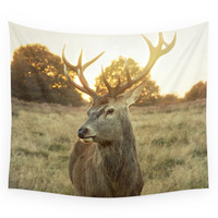Society6 Deer Wall Tapestry
