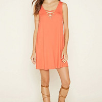 Drawstring Lace Sun Dress B008039