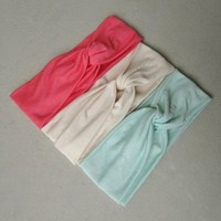 Solid Twist Turban Headband from Love What's Missing