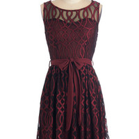ModCloth Vintage Inspired Mid-length Sleeveless A-line Sure is Sassy Dress