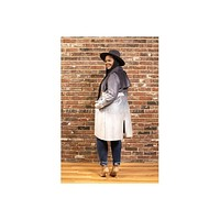 Valarie Ombre Trench Coat