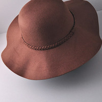 Well Traveled Brown Floppy Hat