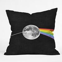 Nick Nelson Dark Side Of The Moon Throw Pillow