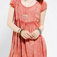 Urban Outfitters - Ecote Acid-Wash Babydoll Dress