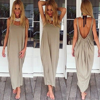 Sexy Women Hippie Free People Boho Evening Party Beach Dress Long Maxi Dress
