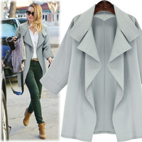 Autumn Casual Long Sleeve Outerwear Jacket a13024