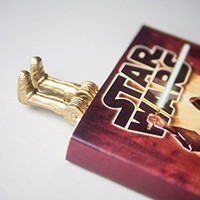 C-3PO Bookmark Ideal Gift For Bookworm and Book Lover Truly Handmade and Crafted With Love Authentic myBOOKmark
