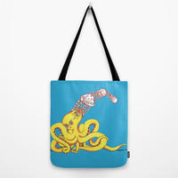 Head Games Tote Bag by Allise Noble