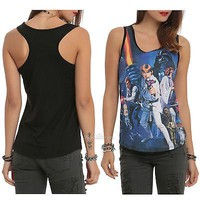 Licensed cool Disney Star Wars Her Universe New Hope Movie Poster Sublimation Tank Top Juniors