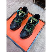 lv louis vuitton womans mens 2020 new fashion casual shoes sneaker sport running shoes 323