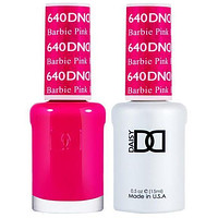 DND - Gel & Lacquer - Barbie Pink - #640