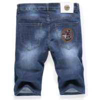 VERSACE Fashion Men Denim Pants Shorts Jeans