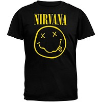 Nirvana - Smiley Soft T-Shirt