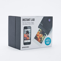 Impossible Instant Lab Camera in Black - Urban Outfitters