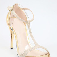 Gold Wedding Shoes, Gold Sandals, Homecoming Shoe, Prom Heels, Bridesmaid, 300-12
