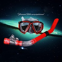 Professional Diving Goggles Men and women Swim Snorkel Adult Scuba Monofin Tube Snorkeling Swimming Glasses Safety Diving Mask