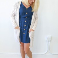 Come In Handy Cardigan - Oatmeal