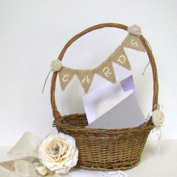 Wedding Card Box, Wedding Card Holder, Rustic Wedding Basket, Cards Sign, Rustic Wedding, Beach Wedding, Country Farm Wedding, Willow Basket