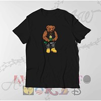 Biggie Bear Brooklyn Nets Jersey Adult Unisex Tee T Shirt