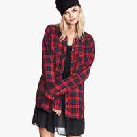 Plaid Shirt - from H&M