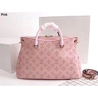 LV 2019 new high quality women's handbag shoulder bag Messenger bag Pink
