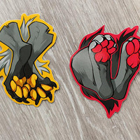 Paws Sticker Set