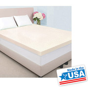 "Walmart: Authentic Comfort 2"" Memory Foam Mattress Topper Made with Biofresh"