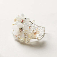 Anthropologie - Pearled Posies Cuff