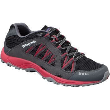 Patagonia Footwear Fore Runner Evo Trail Running Shoe - Men's Black/Red Delicious,