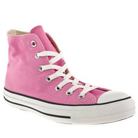 Women's Pale Pink Converse All Star Hi Top at schuh