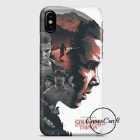 Stranger Things Illustration iPhone X Case   casescraft