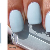 Essie Nail Polish (E746-Borrowed & Blue) BABY BLUE COLOR NEW