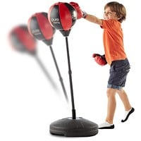 Pure Boxing Punch and Play Boxing Set for Kids - Red, ages 3 to 7