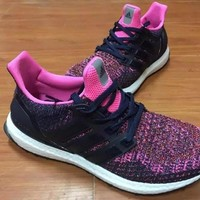 ADIDAS untrl boost Women Running Sport Casual Shoes Sneakers (Pink)