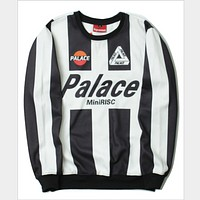 Palace Juventus jersey Harajuku couple plus velvet jacket