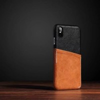 Genuine Leather Card Holder iPhone Case