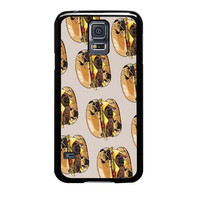 pugs burger case for samsung galaxy s5