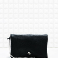 Black Elephant Cross-Body Bag in Black - Urban Outfitters