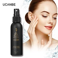 UCANBE Cosmetics Make Up Setting Spray 50ML Bottle Finishing Spray Matte Oil-control Quick-dry Natural Makeup Foundation Spray