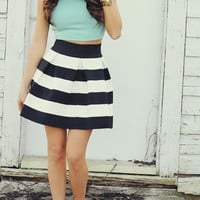 EVERLY: One Fine Day Crop Top: Mint   Hope's