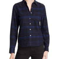 Kate Moss For Equipment London Plaid Button Down Shirt | Bloomingdales's