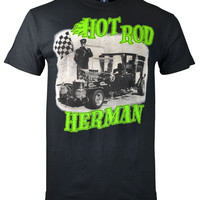 Hot Rod Herman Munsters Men's T-Shirt