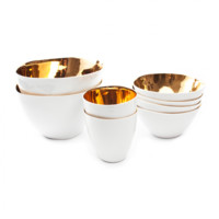 THIRSTY TEA CUP GOLD