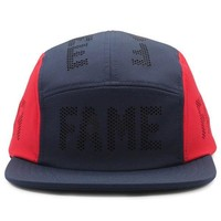 Navy and Red Hall of Fame Camper Hat