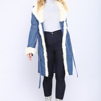 On Demand Denim Jacket - Blue